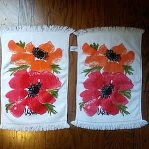Other - vintage Vera Neumann Guest Hand Towels